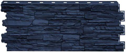 фасадная панель Нордсайд Сланец 1117х463х23 Графитовый